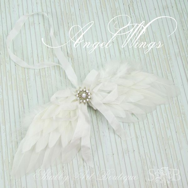 Shabby Art Boutique Angel Wings tutorial
