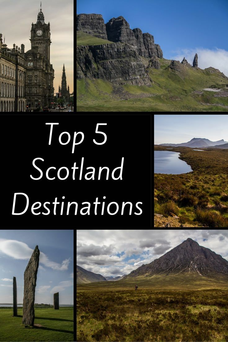 Let's plan your trip to Scotland - Click to discover some of the Top Scotland destinations with beautiful landscapes and stunning scenery – Lochs, Mountains, Cliffs, Castles…