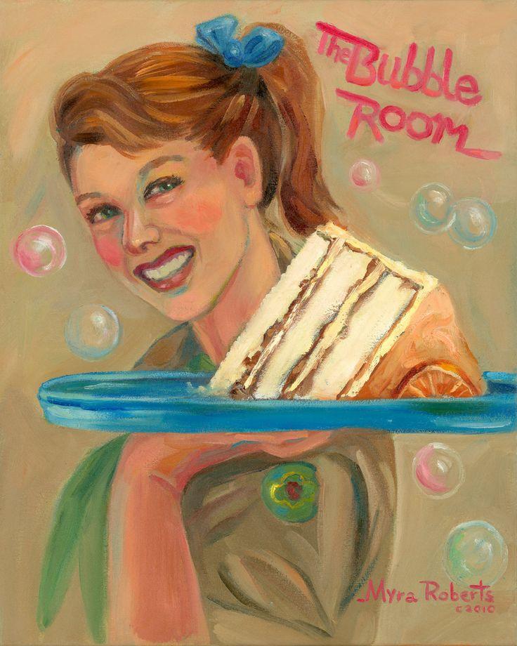 Bubble Room Cake