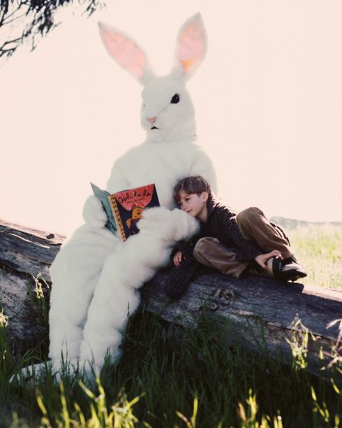 bunny dream slightly spooky story time with the easter bunny photo little more donnie darko at halloween than bugs bunny