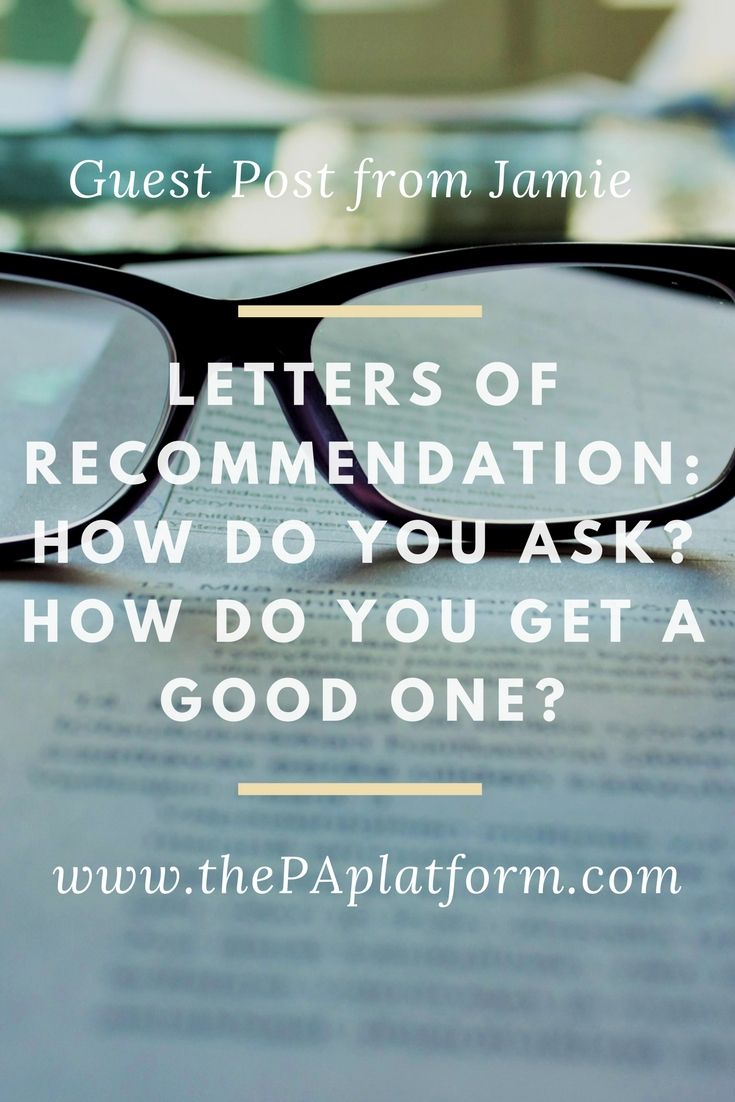 physician assistant cover letter samples%0A Guest Post from Jamie  Letters of Recommendation  How Do You Ask  and How  Do You Get a Good One  Physician Assistant