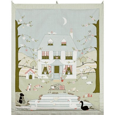 Large Wallhanging-The Summerhouse