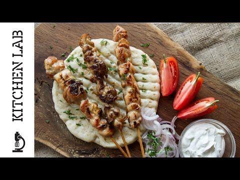 Σουβλάκι κοτόπουλο | Kitchen Lab by Akis Petretzikis - YouTube