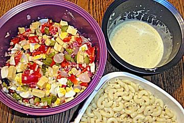 Hörnlisalat, Noodle Salad