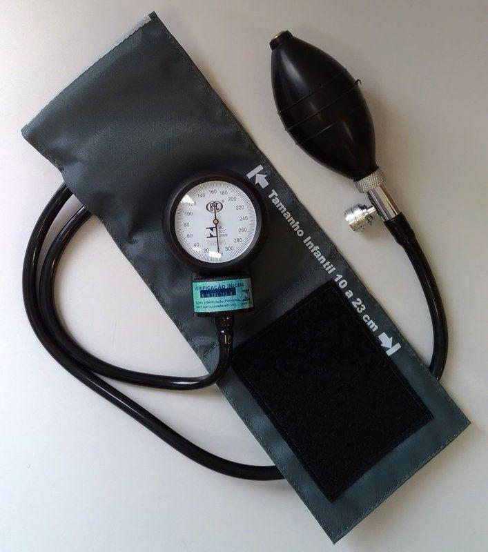 APARELHO DE PRESSÃO INFANTIL NYLON VELCRO CINZA BIC   Melhor Preço! - Cirúrgica Joinville   Produtos Médicos e Hospitalares