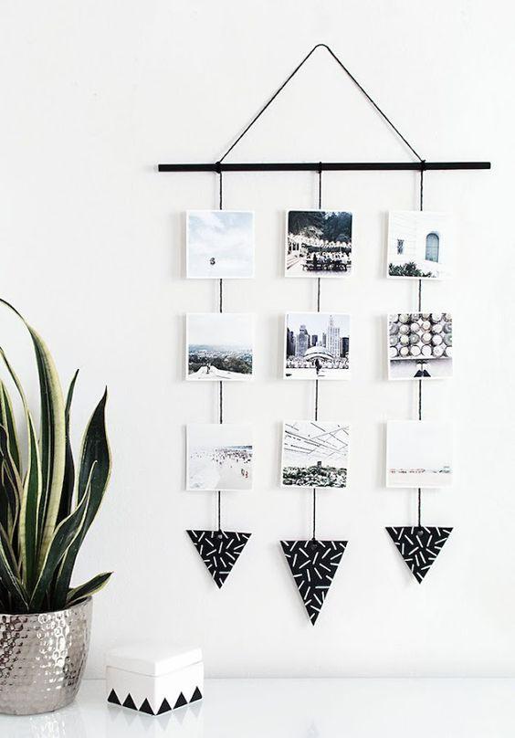 Todos tenemos en casa fotografías bonitas que merecen ser expuestas, por eso ya estás tardando en poner en práctica alguna de estas geniales ideas.