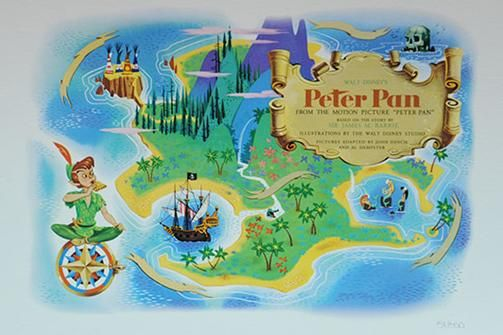 how to get to neverland peter pan