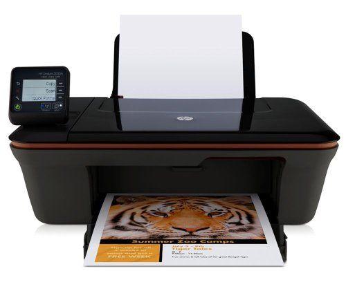 #Bürobedarf - HP DeskJet 3055Ae-All-in-One Tintenstrahl Multifunktionsdrucker (Drucker, Scanner, Kopierer, Wlan, USB, 4800x1200) [Listenpreis: EUR 93,98 - Kaufen Neu: EUR 44,89]