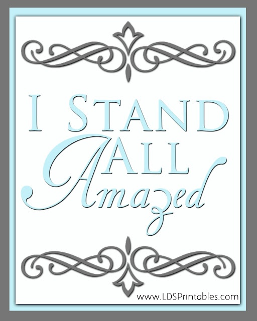 I stand all amazed. Jesus Christ is my Savior. Free