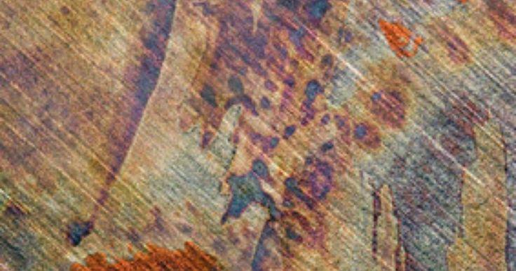 Cómo quitar manchas de óxido de una superficies de madera