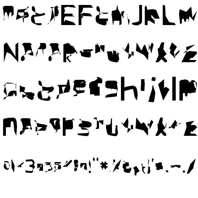 bitstorm extracondensed Font