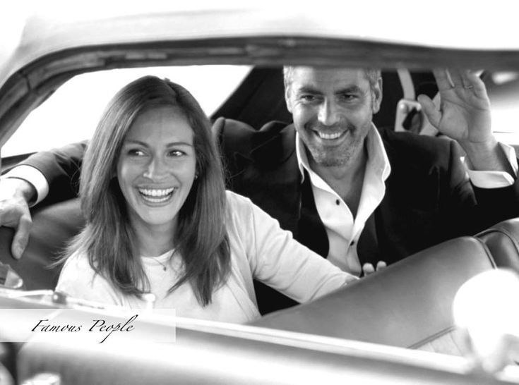 Black and White Pictures!!! 2954576d33dffa5946f608d1c8ba549e--julia-roberts-george-clooney