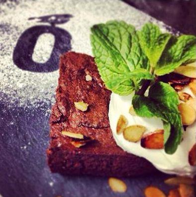 Kladdkaka, torta al cioccolato #bjork #swedishbrasserie #bjorkaosta