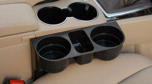 Car Valet Seat Wedge Double Cup Holder http://www.infomercials-tv.com/car-valet/?utm_content=buffer15981&utm_medium=social&utm_source=pinterest.com&utm_campaign=buffer #carcupholder