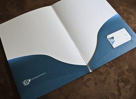 Presentation Folder Design 27 Folder Design