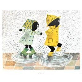 miniposter jip en janneke regen