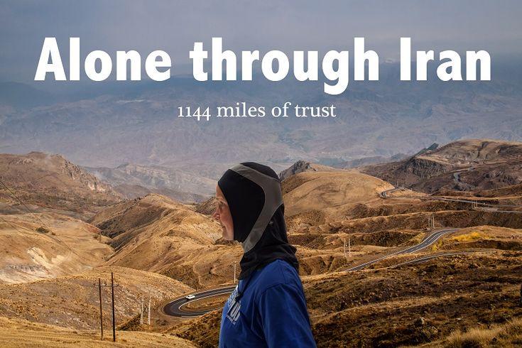 """Alone Through Iran – 1144 miles of Trust"", A True Story Film of Kristina Paltén"