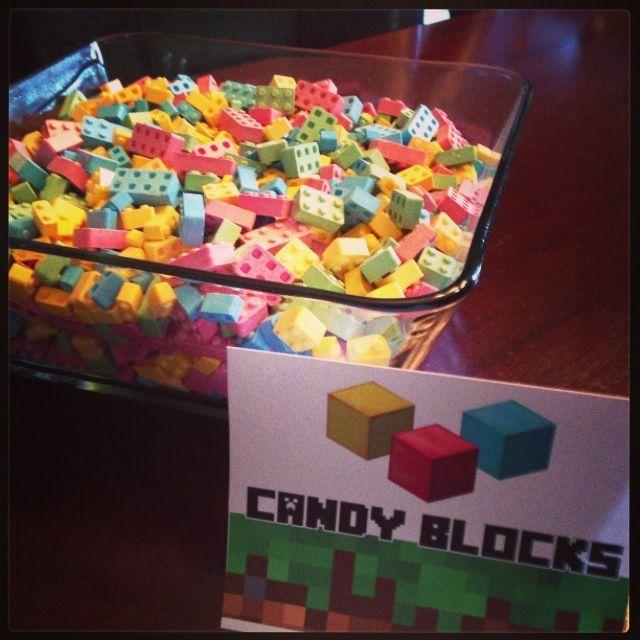 "Photo 8 of 33: Minecraft & Video Games / Birthday ""Jason & Zach's Minecraft 11th Birthday Party"" | Catch My Party"