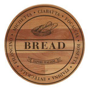 Lopárik z bukového dreva Bisetti Broad Bread, 30 cm