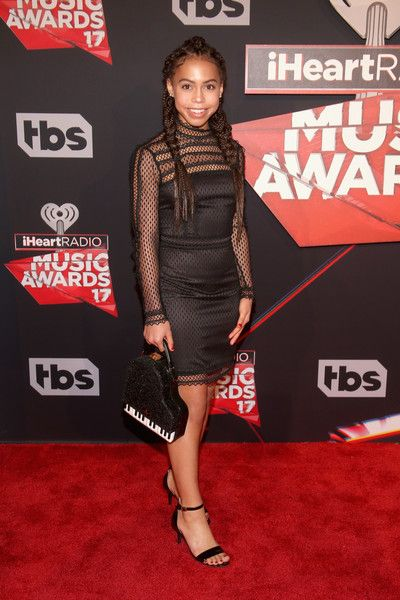 Singer-actor Asia Monet Ray attends the 2017 iHeartRadio Music Awards which broadcast live on Turner's TBS, TNT, and truTV at The Forum on March 5, 2017 in Inglewood, California.