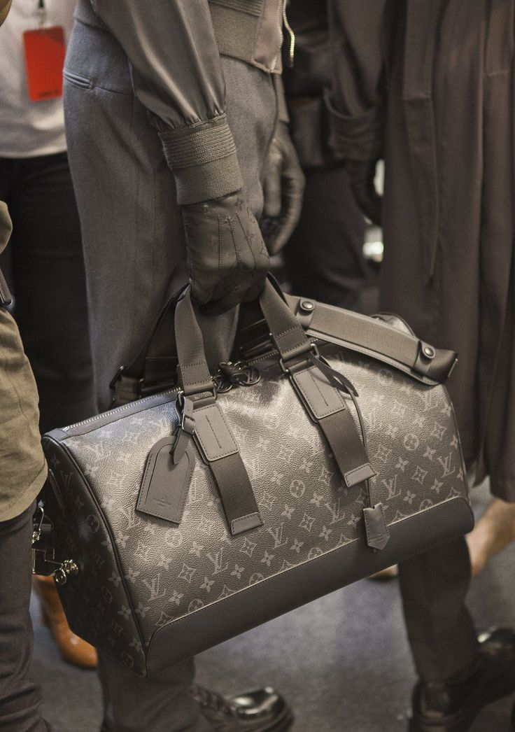 Backstage at Louis Vuitton - Mens Fashion Week FW 2016