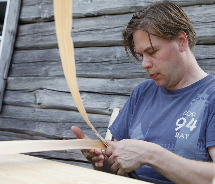Perinneviikonloppuna voi kokeilla pärekorin valmistusta. Oulu (Finland)
