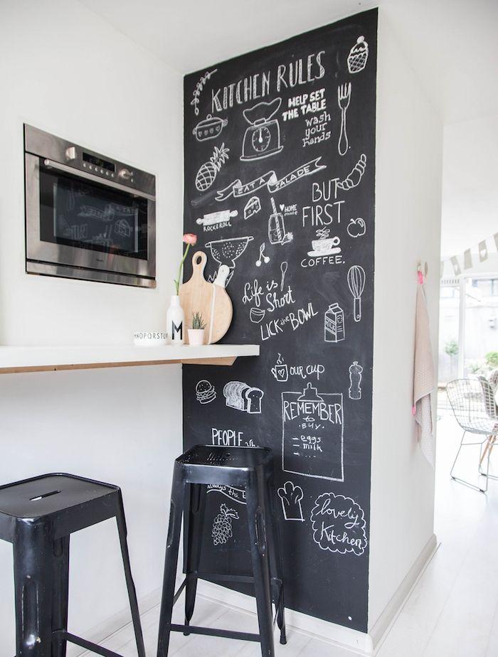 les 25 meilleures id es de la cat gorie peinture ardoise. Black Bedroom Furniture Sets. Home Design Ideas