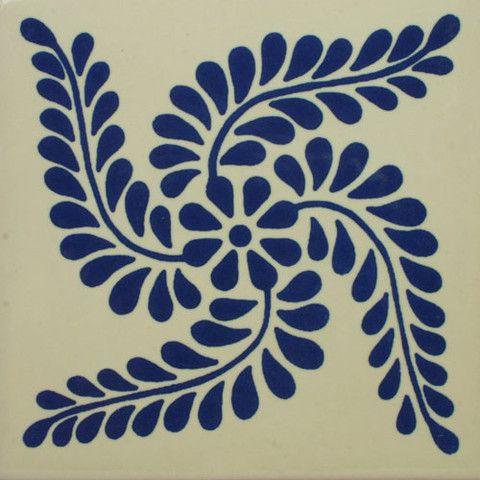 Especial Decorative Tile - Espiga Azul