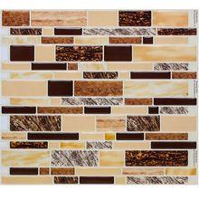 Hágalo usted mismo en casa decoración autoadhesivas de vinilo azulejo de la pared de la pared de la cocina backsplash mosaico de arte