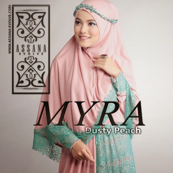 Myra by Assana Evolve - Dusty Peach Medium View