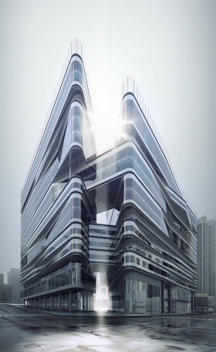 This building looks super cool!     Greenland East Village CBED Plots | Aedas | Architecture | Mixed-use | Chengdu, PRC