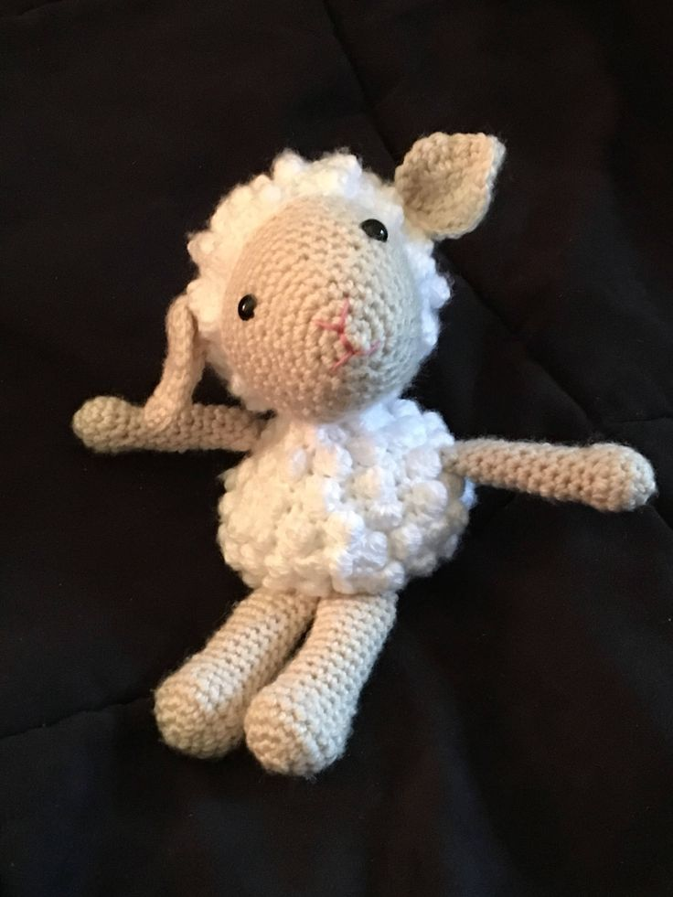 A personal favorite from my Etsy shop https://www.etsy.com/ca/listing/557109261/lamb-stuffed-animal