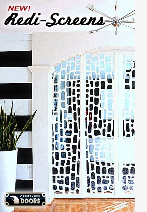 doors and room dividers.    redi-screens-crestview-doorsDecor Ideas, Photos Gallery, Redi Screens, Crestview Doors, Dreams House, Front Doors, Mid Century, Modern House, Room Dividers