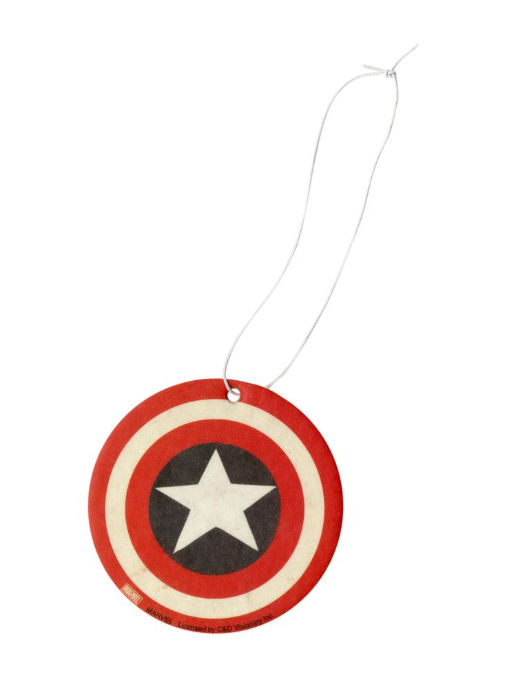 Marvel Comics Captain America Air Freshener | Hot Topic
