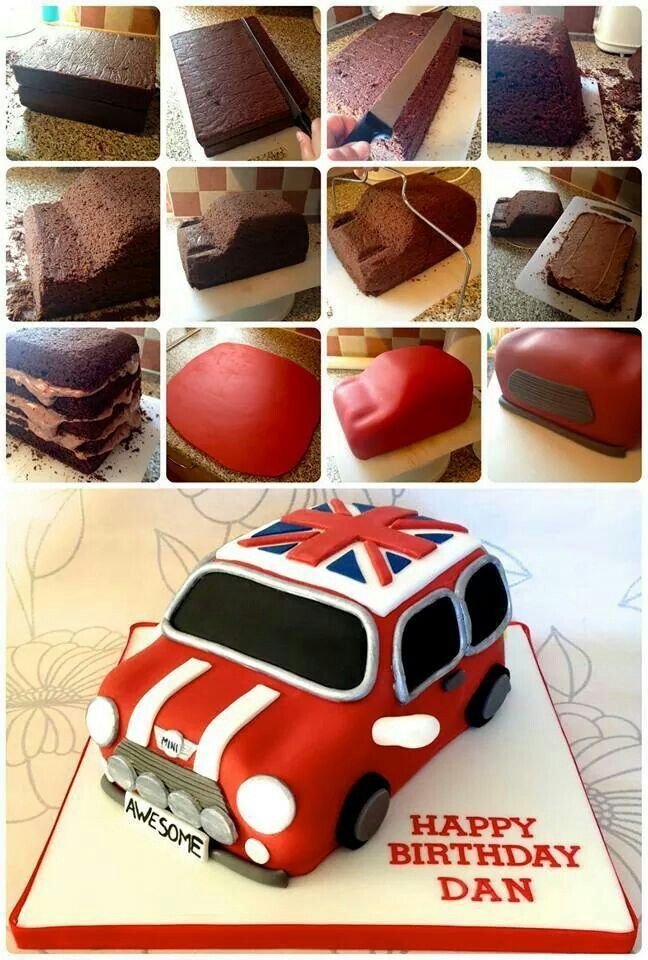 Mini Cooper cake                                                                                                                                                                                 Mehr