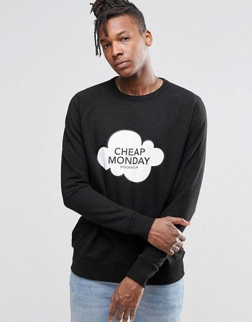 Cheap Monday | Свитшот с логотипом в виде облака Cheap Monday Rules