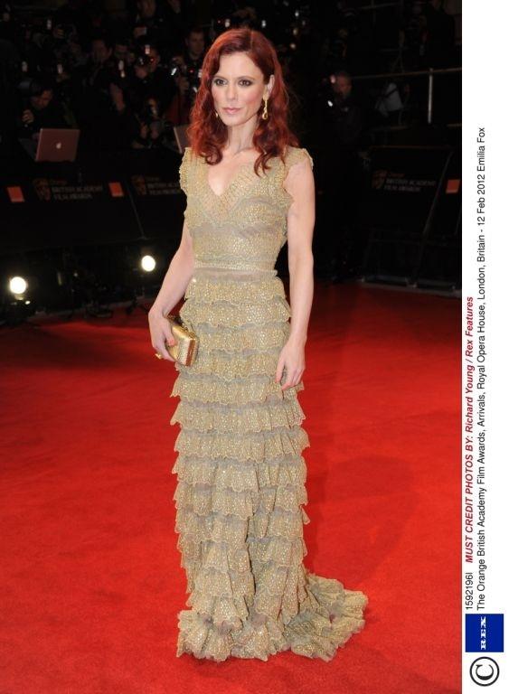 Emilia Fox @BAFTA #BAFTAStyle