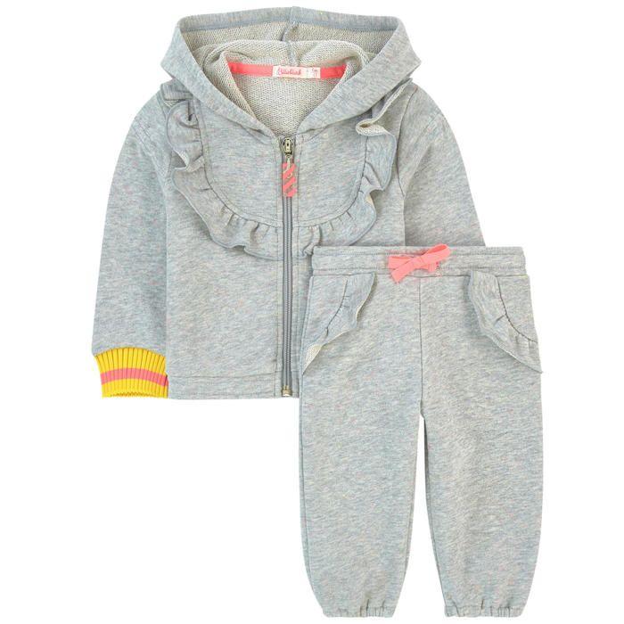 1a3a2f80c034 Sweat et pantalon de jogging chiné Billieblush pour bébé   Melijoe.com