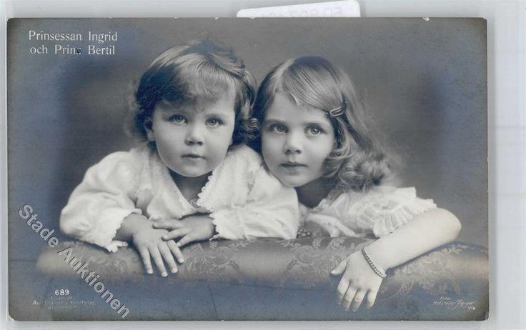 Schweden Prinzessin Ingrid und Prinz Bertil