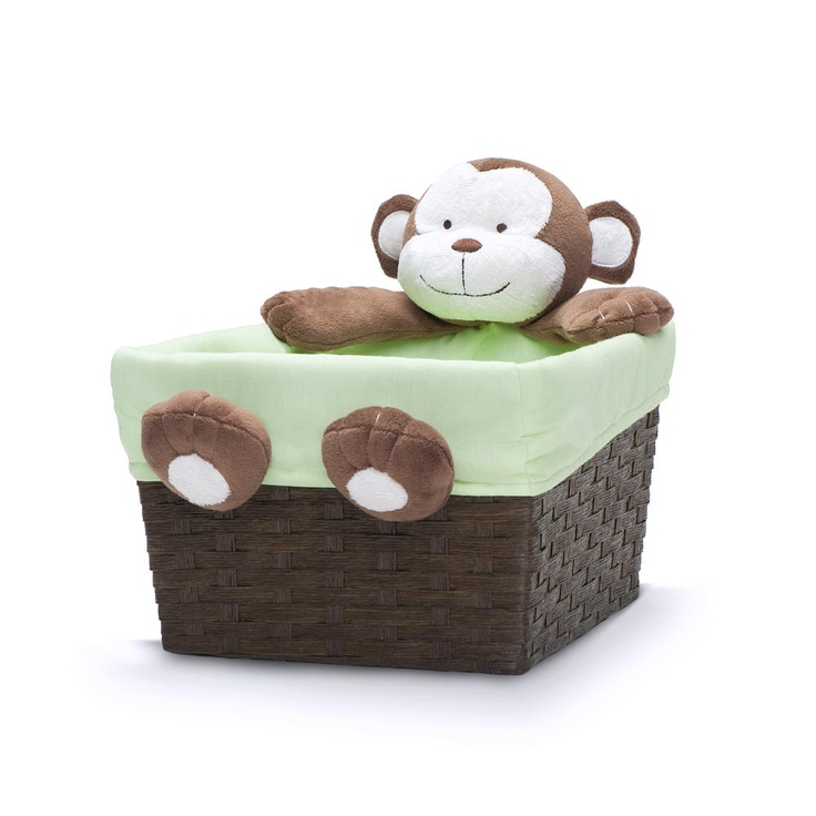 "Babies R Us By Design Monkey Plush Character Basket - Babies R Us - Toys ""R"" Us"