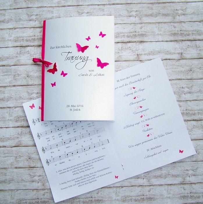 Kirchenheft Hochzeit Kartenmanufaktur Arndt