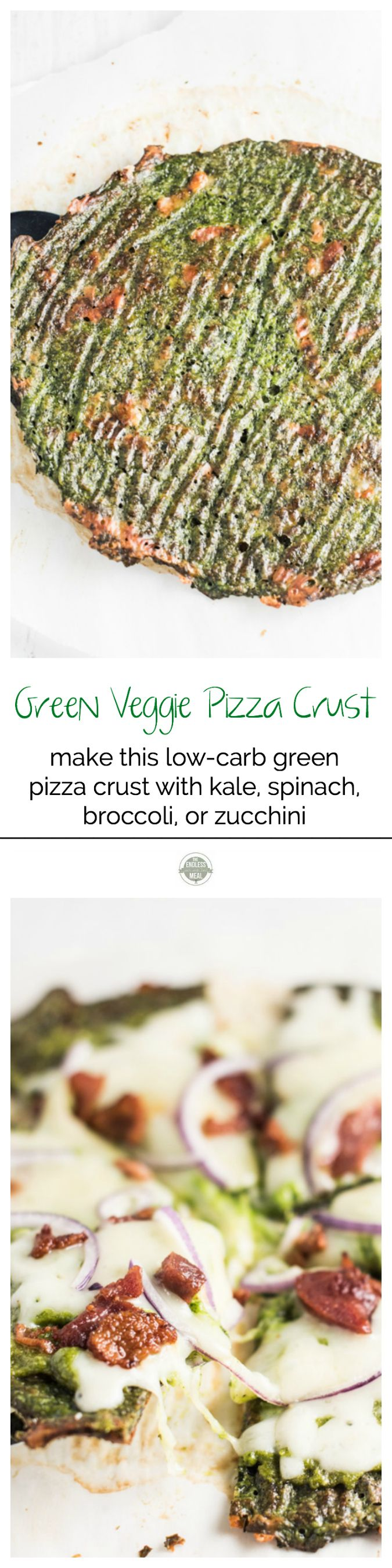 Green Veggie Pizza Crust | The Endless Meal