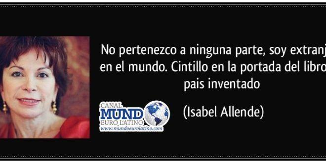10 LIBROS EN PDF DE ISABEL ALLENDE PARA DESCARGAR GRATUITAMENTE - Mundo Euro Latino