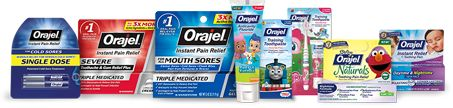Get a coupon for Orajel Single dose