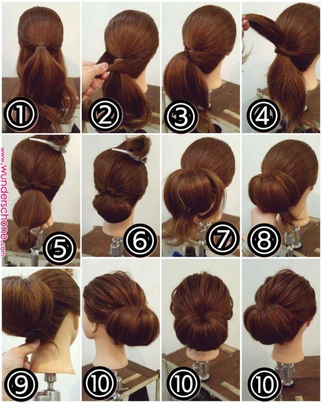 Hair Arrangement Www Instagram Com Hochsteck Www Instagramcom Hair Arrangement In 2020 Pinterest Hair Long Hair Styles Long Hair Updo