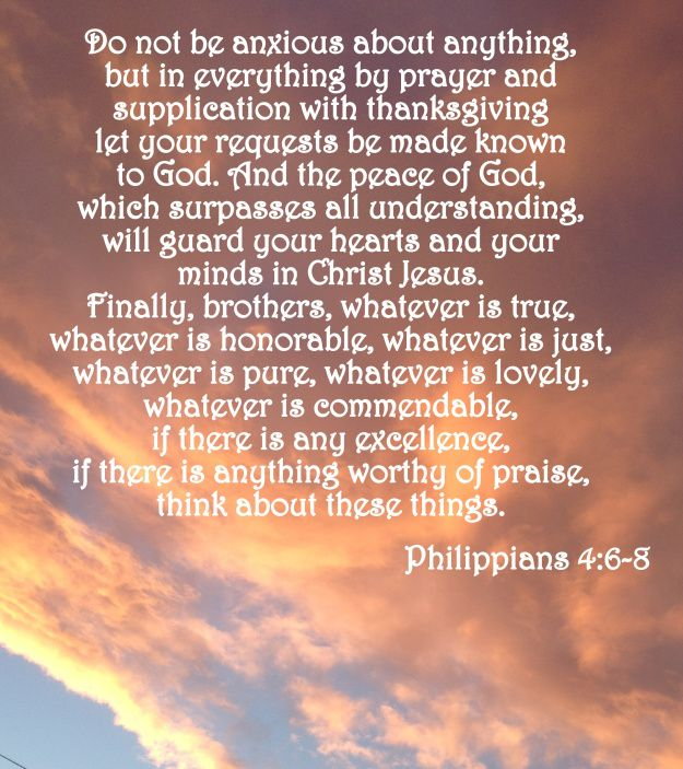 phillipians 4:6 | Verse of the Day – Phillipians 4:6-8