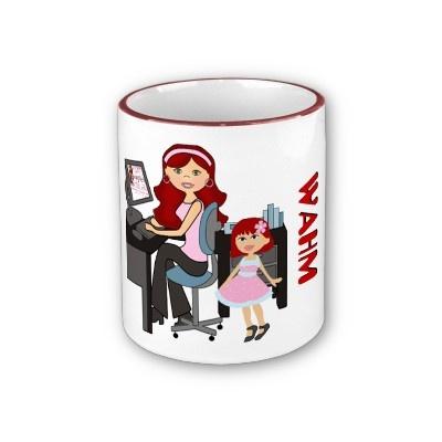 WAHM (Work At Home Mom) Mug