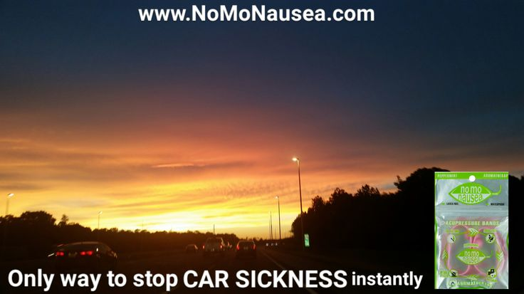 Tip 11 NoMo Nausea Band to prevent motion sickness