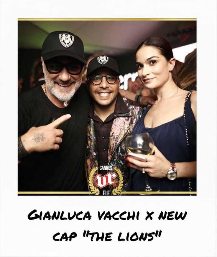 """Gianluca Vacchi VS Richard Valentine's new cap """"The Lions"""" for the Cannes Film Festival"""