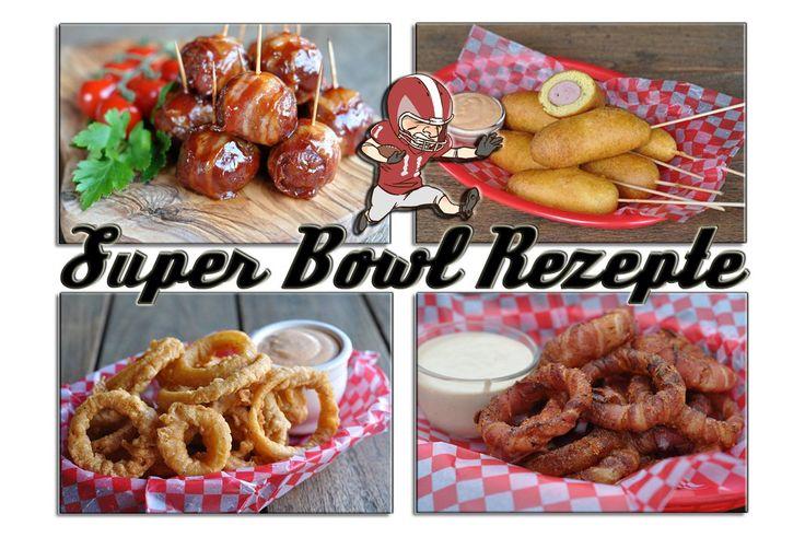 Super Bowl Rezepte - Snacks, Burger und Co. die besten Party-Rezepte